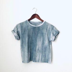 PacSun•Tie Dye Marble Crop Top
